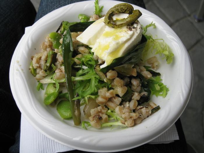 Andy Nusser's Farro Salad