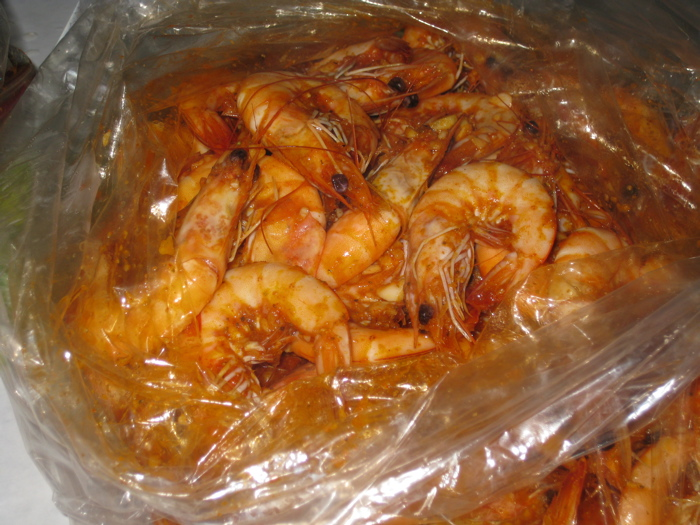 Boiling Crab shrimp