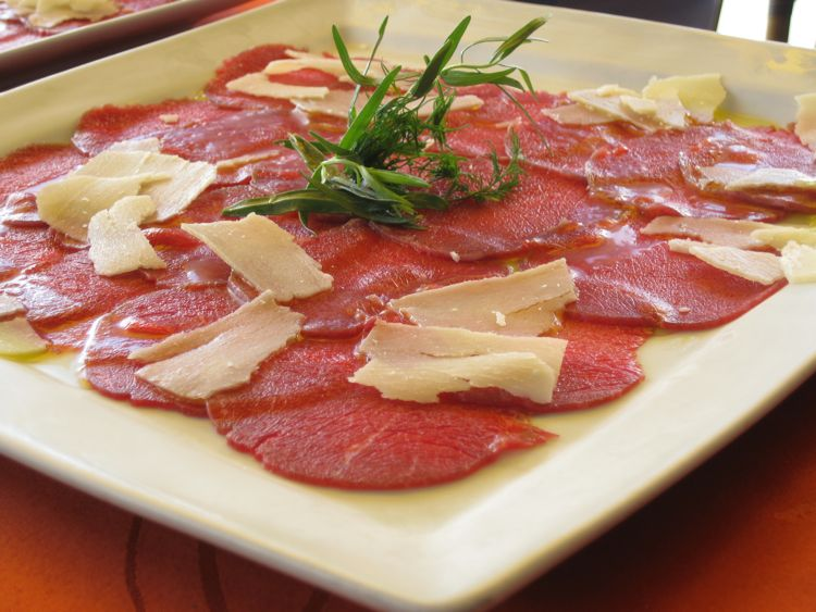 Carpaccio at La Route des Boucaniers