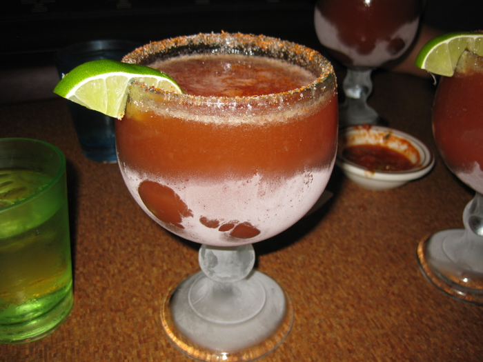 Michelada at Puerto Azul
