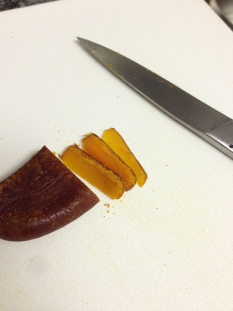 Mullet Roe sliced