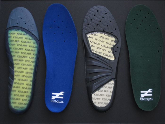 Unequal Insoles
